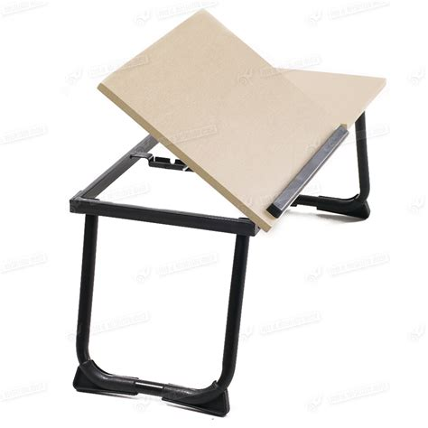 Portable Folding Stand Laptop Desk Wooden Lap Bed Tray