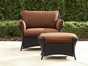 Review, La-z-boy, Outdoor, Everett, Oversized, Chair, With, Ottoman