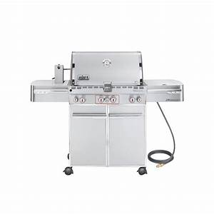 Weber Summit S 470 : weber summit s 470 4 burner natural gas grill in stainless steel with built in thermometer and ~ Frokenaadalensverden.com Haus und Dekorationen