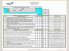 11 Quality Checklist Template Excel ExcelTemplates