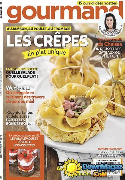 gourmand magazine cuisine gourmand 18 janvier 2017 no 363 pdf