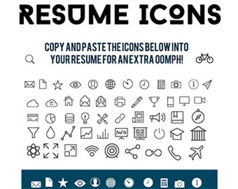 12 contact icons for resume images resume icon resume