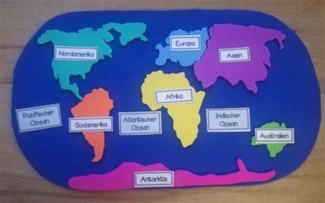 kontinente und weltmeere legespiel geographie fuer kinder