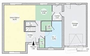 plan maison etage avec double garage segu maison With plans de maison gratuit 3 detail du plan de maison unifamiliale w3928