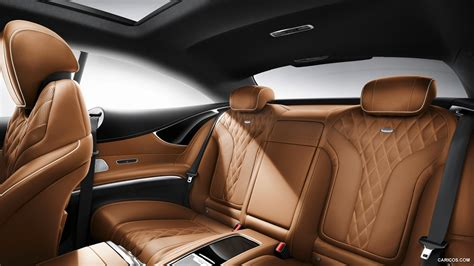 Full interior and exterior review of the facelift 2019 mercedes s class coupe series s560 with amg package. 2015 Mercedes-Benz S-Class Coupe - Interior Rear Seats | HD Wallpaper #82 | 1920x1080