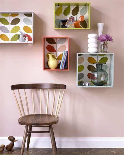 Une étagère Murale Diy Avec Une Caisse à Vin  Shake My Blog