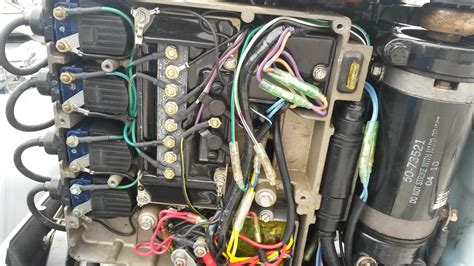 Mercury Outboard Motor Alarms by Mercury 40 Hp Wiring Diagram Mercury 40 Hp Outboard