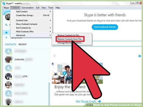 how to add phone to find my iphone 3 ways to add phone contacts to skype wikihow 3068