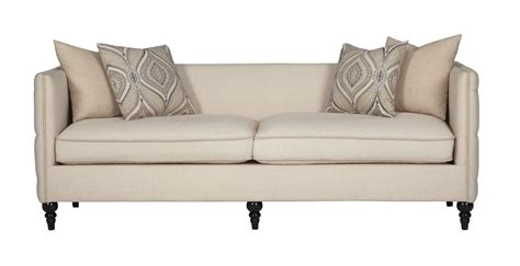 claxton traditional tuxedo sofa  tufting quality