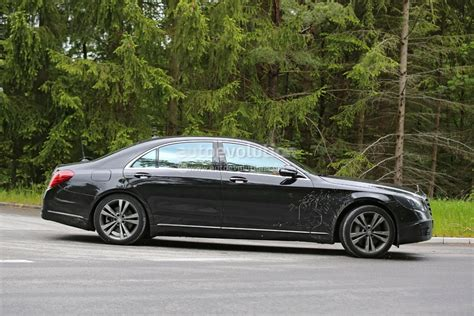 2018 Mercedes-benz S-class Facelift Reveals Its Slightly