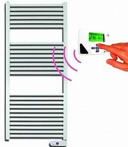 Seche Serviette Programmable : radiateur electrique salle de bain programmable ~ Nature-et-papiers.com Idées de Décoration