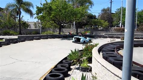 Compete in one of our unique miniature golf courses, race through a high speed go kart track. Go-Carts at Boomers in Vista, CA - YouTube