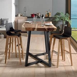 Table Haute Pliable : avec la table haute kuma vivez un fascinant voyage ~ Teatrodelosmanantiales.com Idées de Décoration