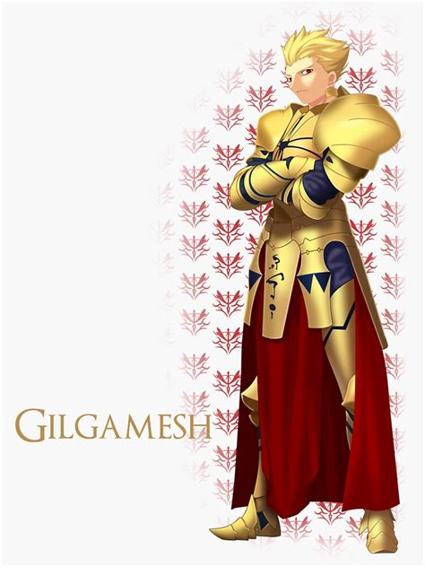 gilgamesh sticker by tru7h redbubble
