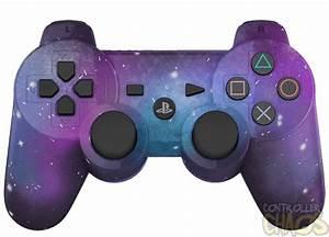 Galaxy Edition Playstation 3 Custom Controllers