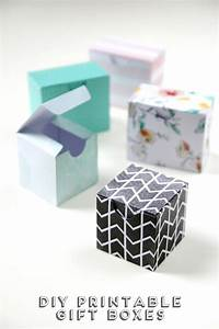 printable diy gift boxes gathering beauty With template for small gift box