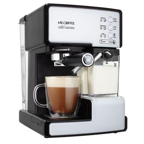Mr. Coffee Café Barista Pump Espresso Maker at MrCoffee.com.