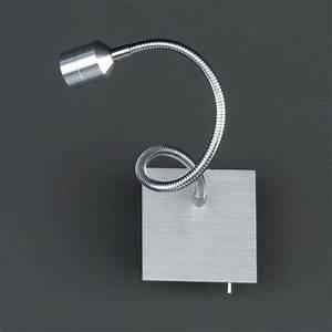 Wandlampe Mit Schalter : flexible led wandlampe mit schwanenhals und schalter ~ Watch28wear.com Haus und Dekorationen