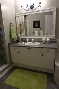 framed bathroom mirror ideas bathroom vanity with custom mirror frame contemporary bathroom toronto by tlc designs