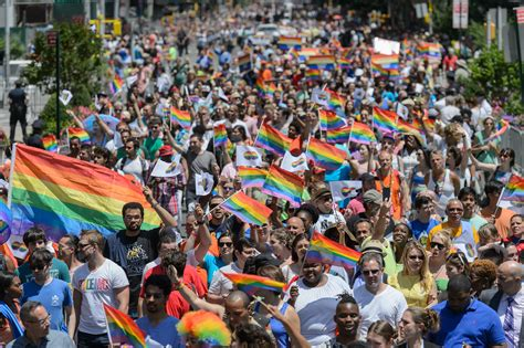 gay pride nyc  worldpride info  parade route