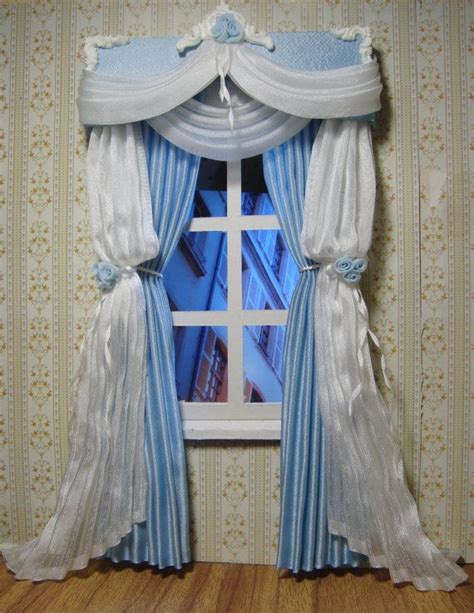 218 best images about miniature curtains on