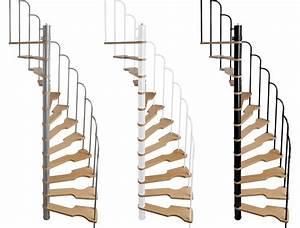 Escalier En Colimaçon : escalier semi h lico dal treppen 70x140 cm escalier ~ Mglfilm.com Idées de Décoration