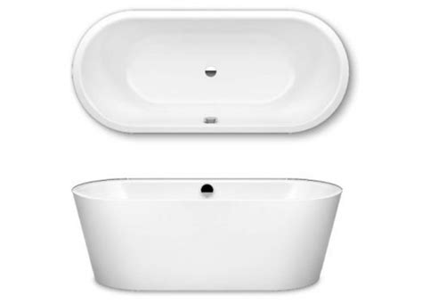 Kaldewei Duo Oval by Kaldewei Meisterstuck Classic Duo Oval Steel Freestanding Bath