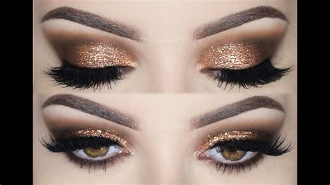 Prom Make Tutorial Smokey Eyes Glitter Melissa