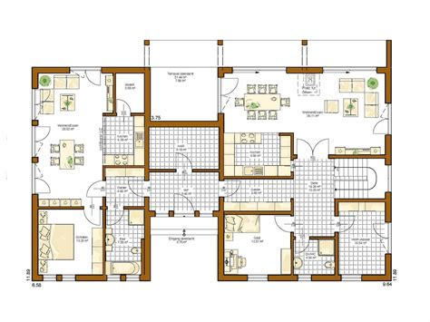 Grundriss Winkelhaus Mit Garage by Grundriss Winkelhaus Mit Garage Wohndesign Ideen