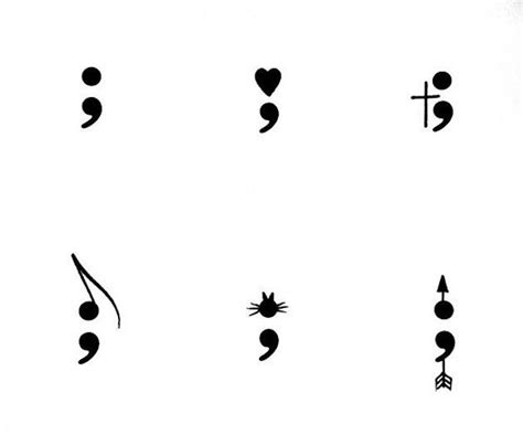 ideas  moving  inspirational semicolon tattoo