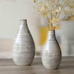 Vase En Céramique : vase c ramique design vases design et chic bruno evrard ~ Teatrodelosmanantiales.com Idées de Décoration
