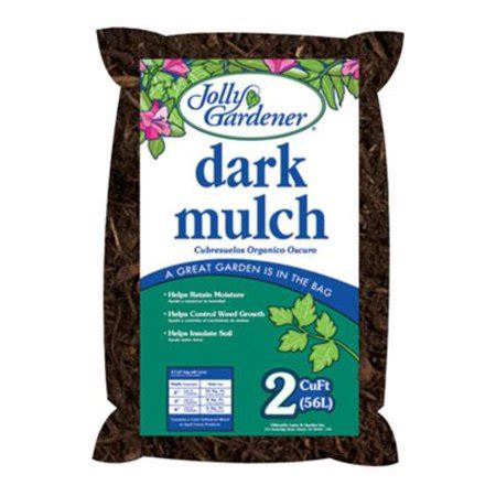 Jolly Gardener by Jolly Gardener 52058034 Mulch 2 Cu Ft Walmart