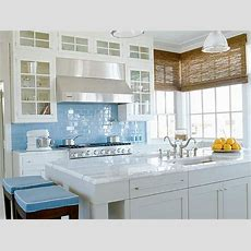 Kitchens With Color Blue  Tiletramp