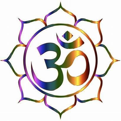 Namaste Om Symbol Aum Background Clipart Transparent