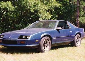 Jbodien 1986 Chevrolet Camaro Specs  Photos  Modification