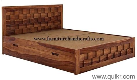 Wooden Furniture(m) Storage Double Bed/cot