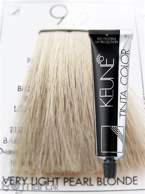 Keune Tinta Color Very Light Pearl Blonde 9.2 - Hair Color