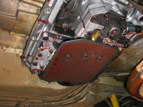 volvo transmission filter replacement