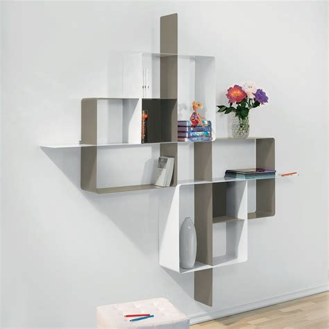 Librerie Moderne Design by Libreria Scaffale Design In Acciaio 200 X 200 Cm Mondrian 5