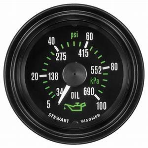 Heavy Duty Plus Oil Pressure Gauge  P  N 82741