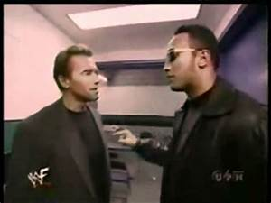 WWF The Rock & Arnold Schwarzenegger HD - YouTube