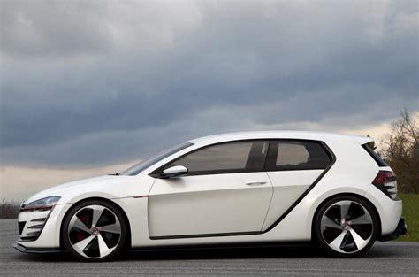 vw golf design vision gti  drive review review autocar