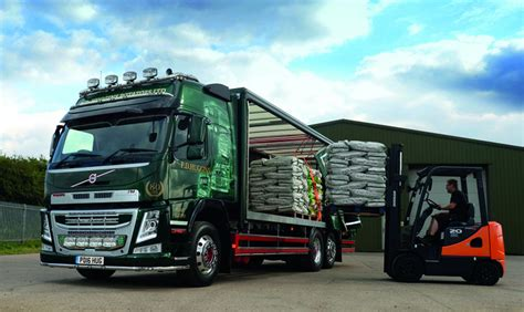 latest volvo commercial pd huggins looks chipper with new volvo fm commercial motor