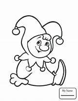 Coloring Juggling Pages Clown Getcolorings Printable Circus sketch template