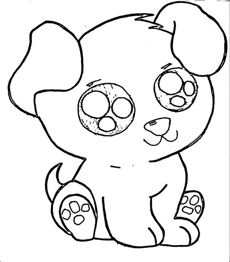 coloring pages  cute puppies coloring home
