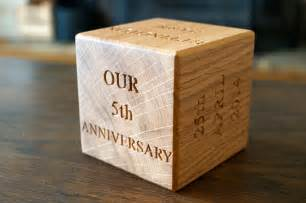 wedding anniversary gift ideas 5th wedding anniversary gift ideas for make me something special