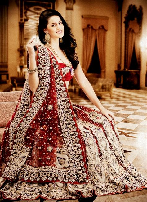traditional indian bridal dresses godfather style