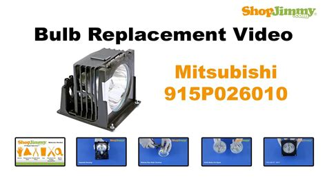 dlp tv l reset mitsubishi 915p026010 bulb replacement guide for dlp tv