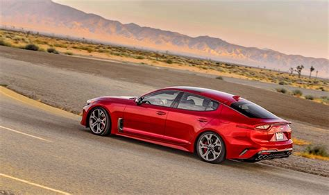 2018 Kia Stinger Gt Crashes The German Party 7 First
