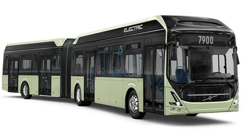volvo presents  electric articulated bus  quiet